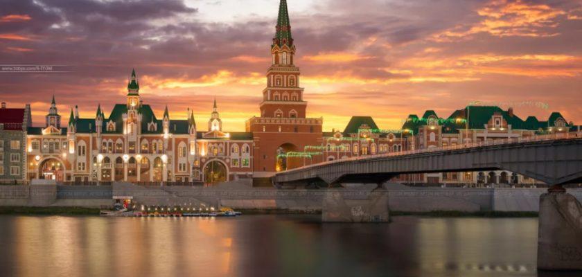 Йошкар-Ола Кремль Брюгге