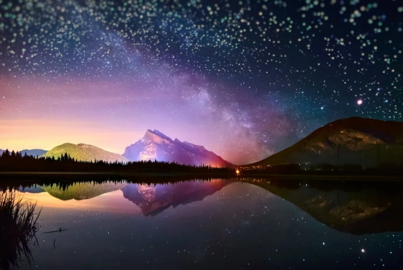 Красивое звездное небо