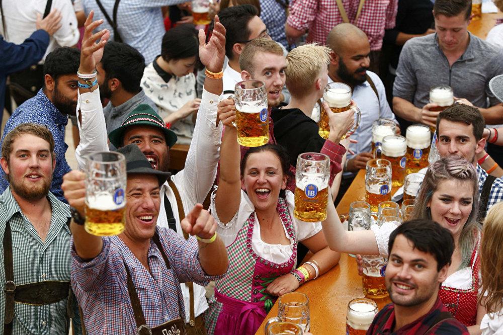 Фестиваль пива в Баварии