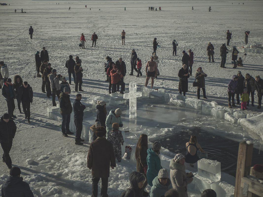Крещение на Байкале