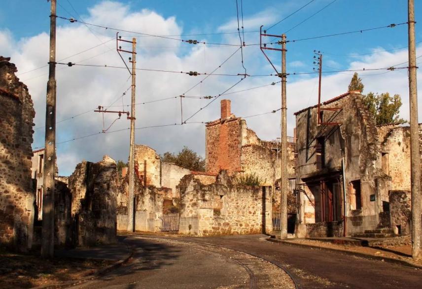 Город Орадур-сюр-Глан