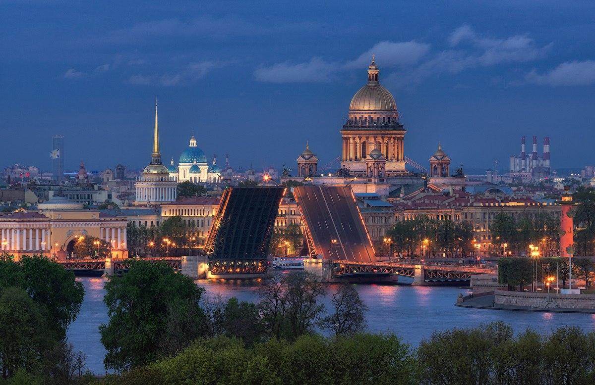 Красивый Санкт Петербург