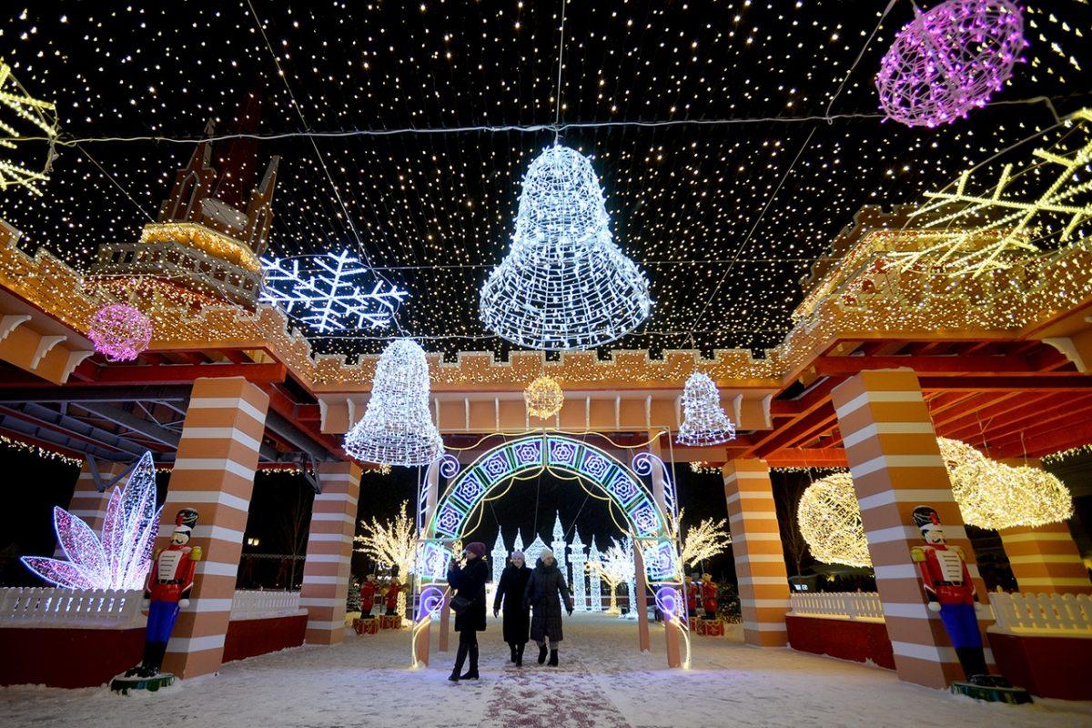 Новый Год и Рождество в Казани 2