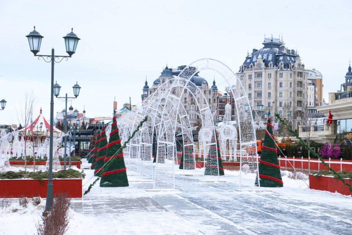 Новый Год и Рождество в Казани 1