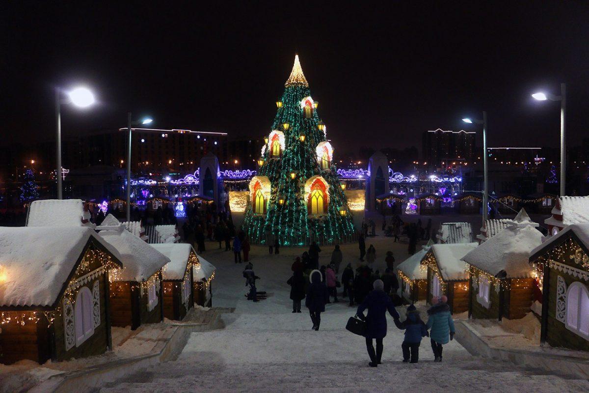 Новый Год и Рождество в Казани 3