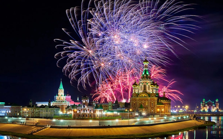 Салют в Казани
