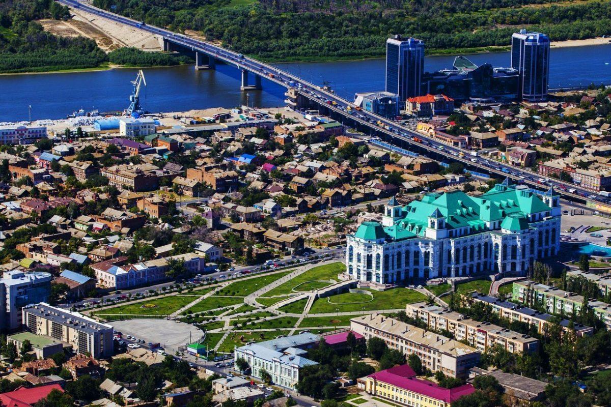Астрахань - центр города