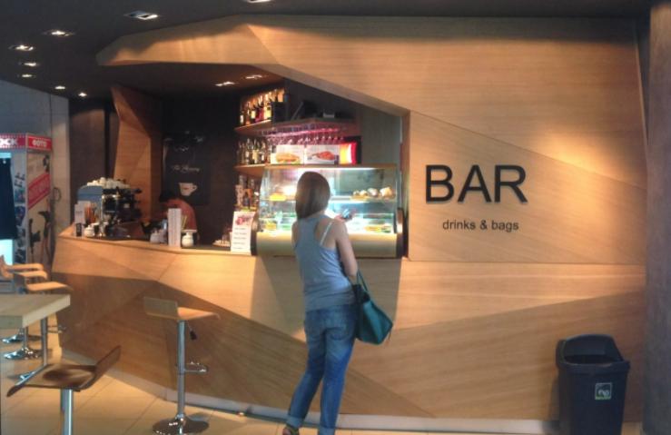 бар в аэропорту