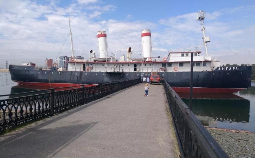 Музей ледокол Иркутск