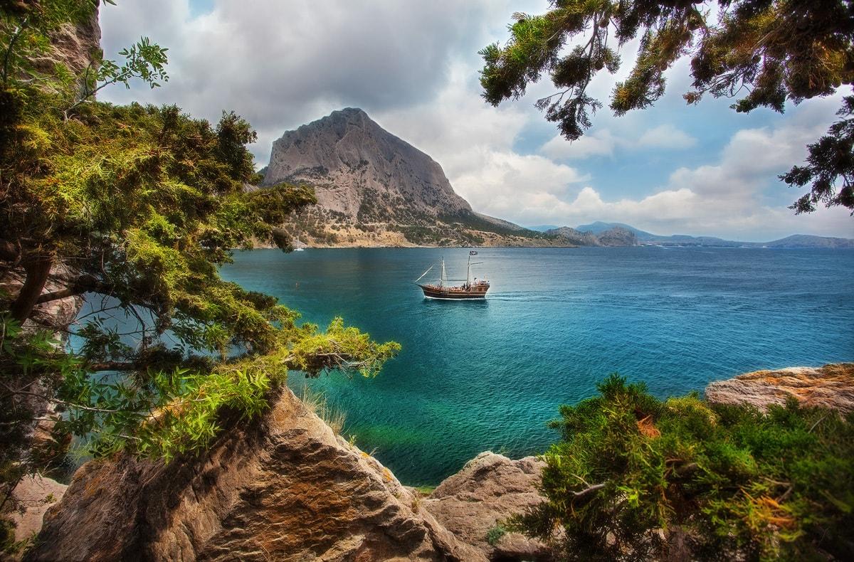 Новый свет Крым природв