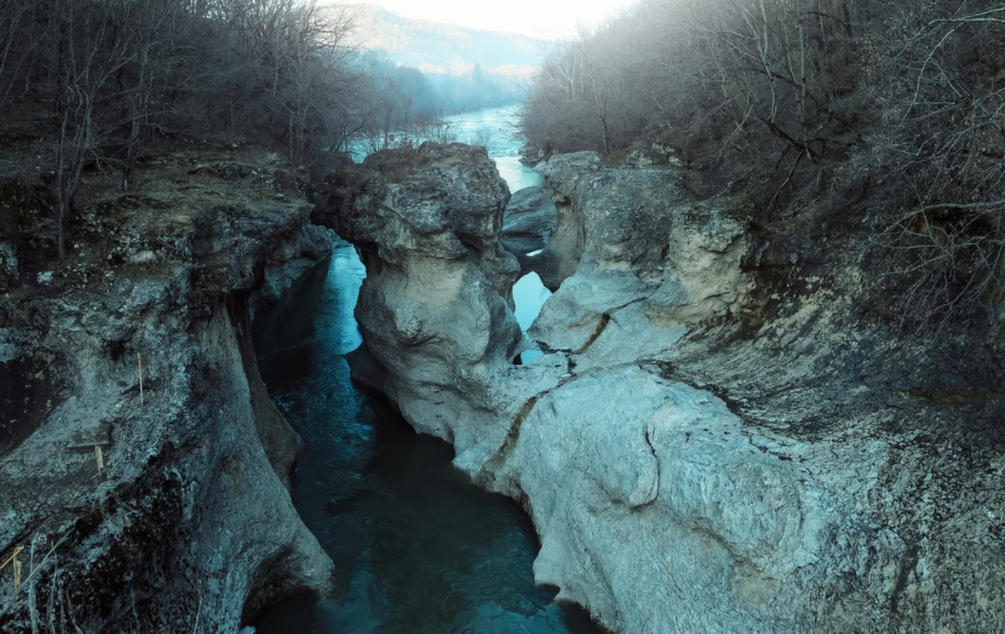 Каньон реки Белой (Хаджохская теснина)