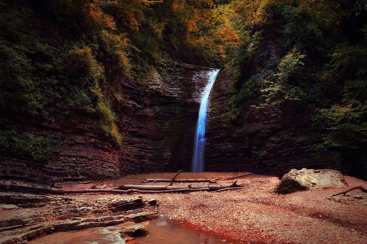 Водопады долины Руфабго