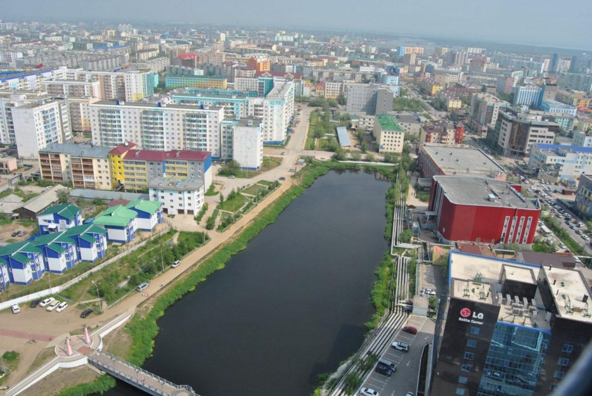 Вид на Якутск