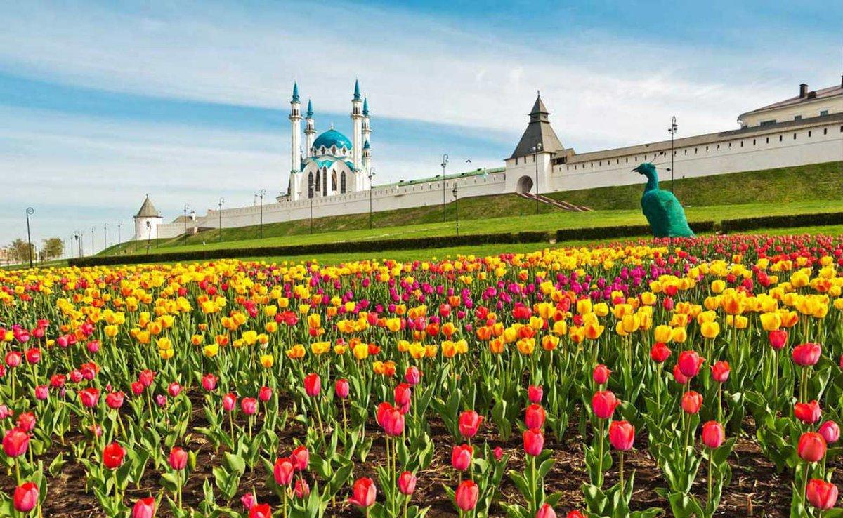 Казань весна