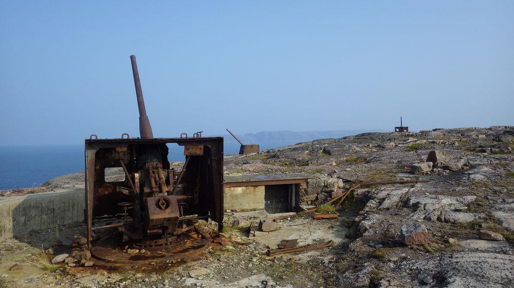 артиллерийская батарея береговой обороны териберка
