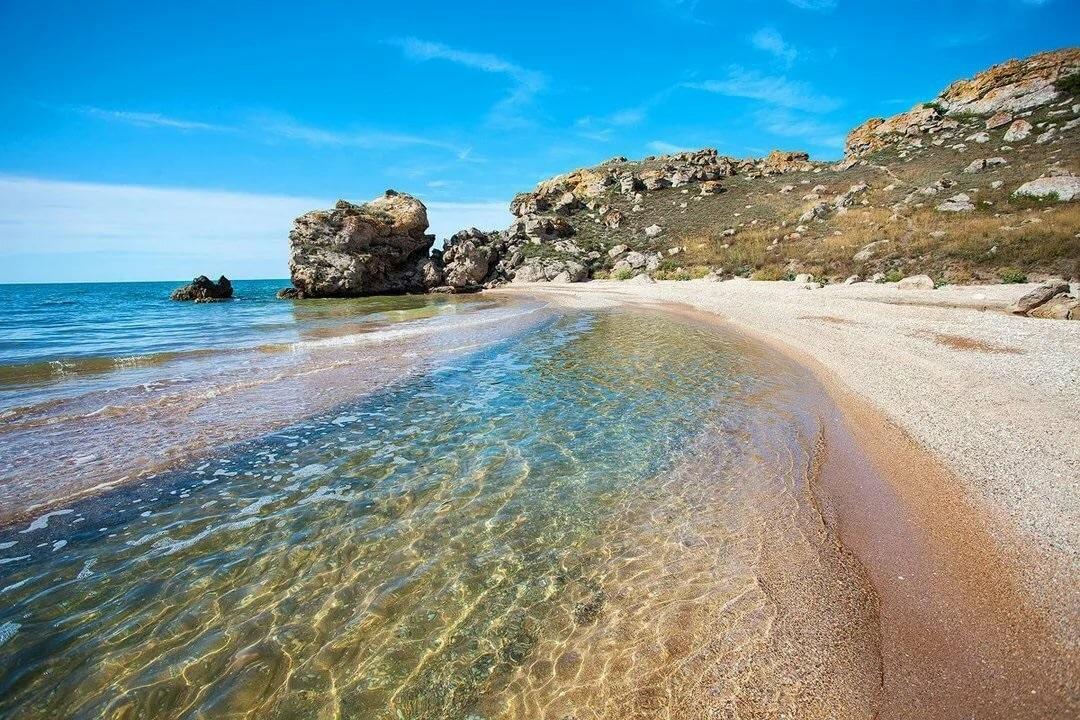 Судак, пляж