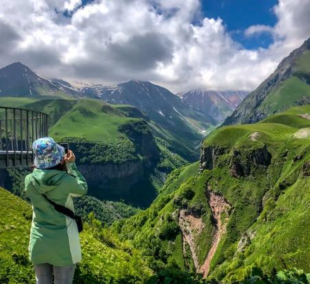 Красоты природы Грузия