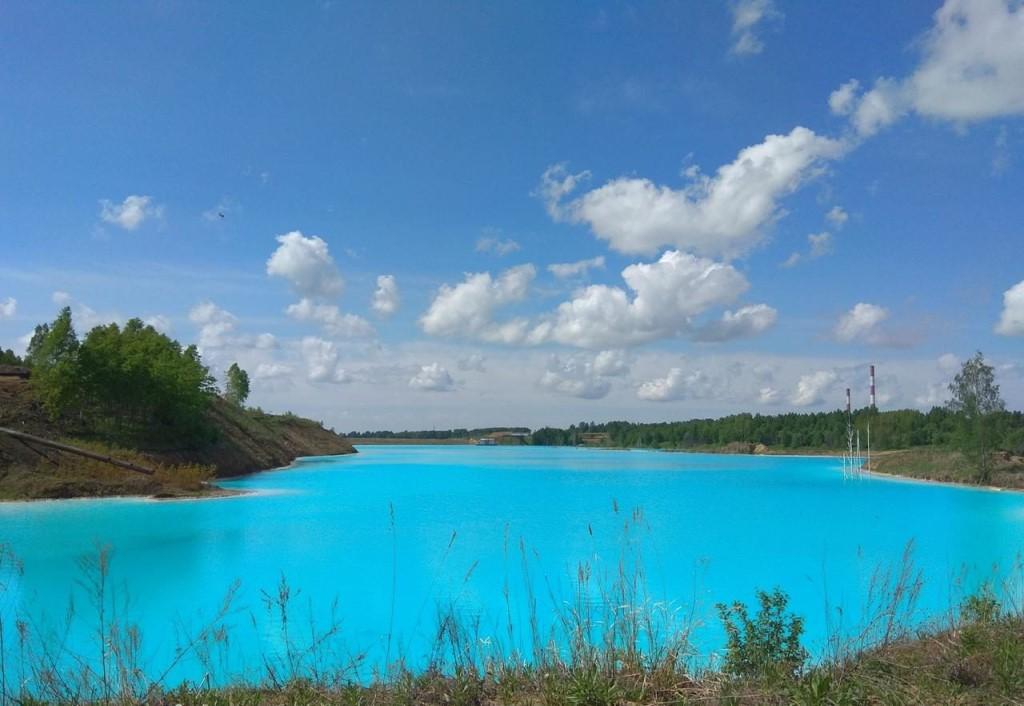 Голубое озеро, Новосибирск