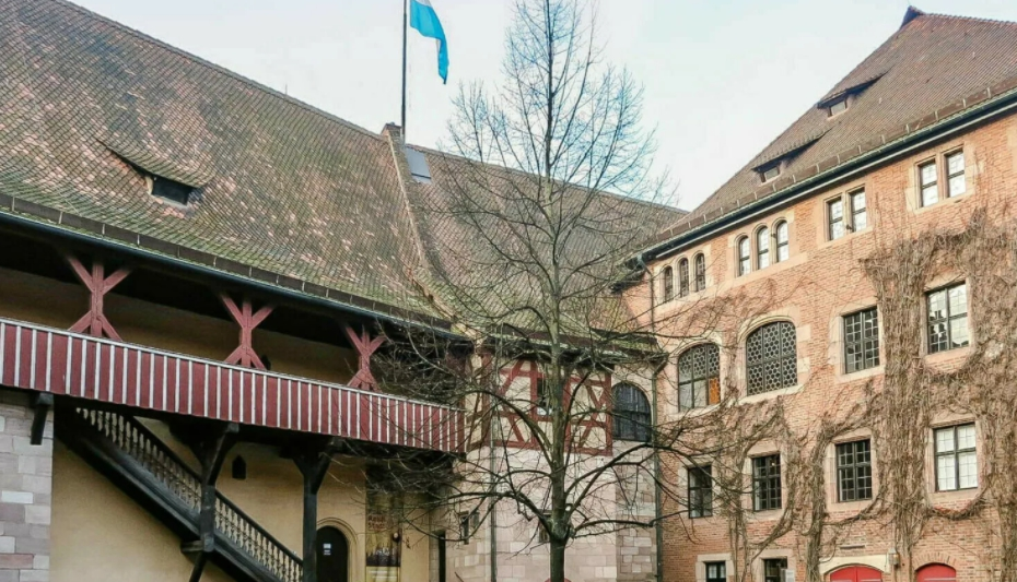 Нюрнбергский замок внутри