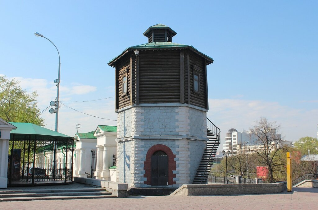 Водонапорная башня Екатеринбург