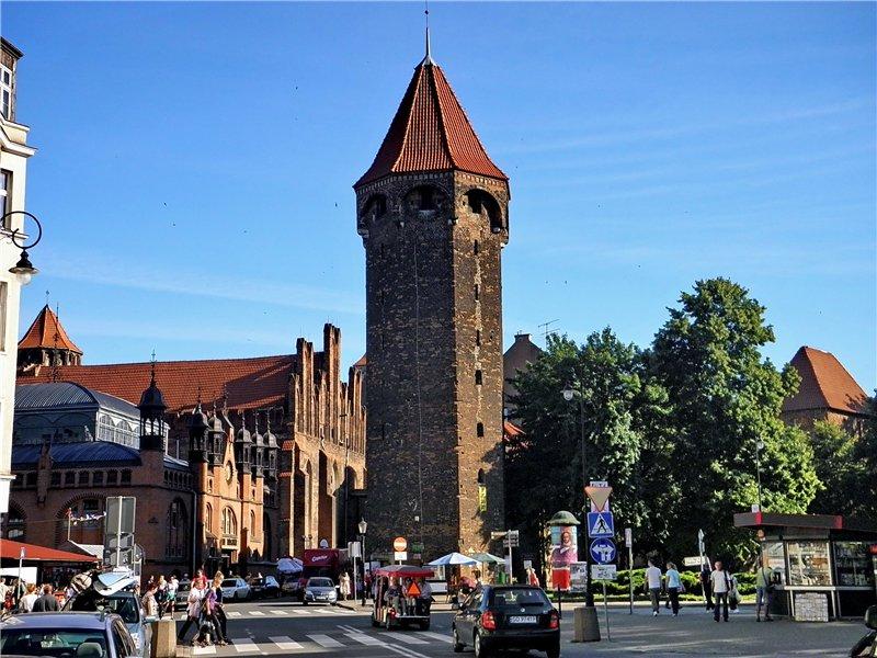 Башня Яцека в Гданьске
