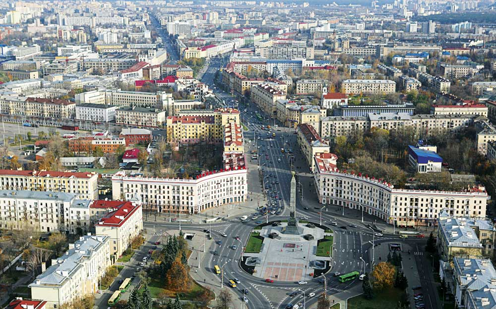 Проспект независимости Минск