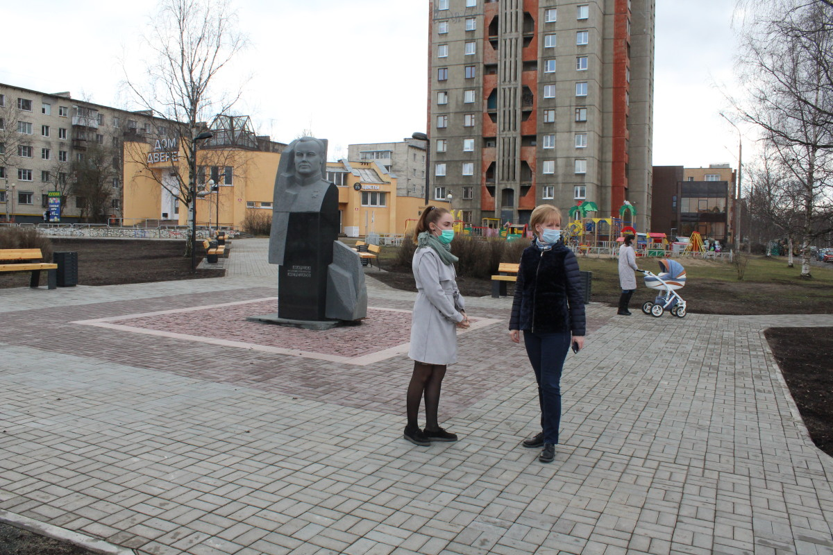 Комсомольский сквер Петрозаводск