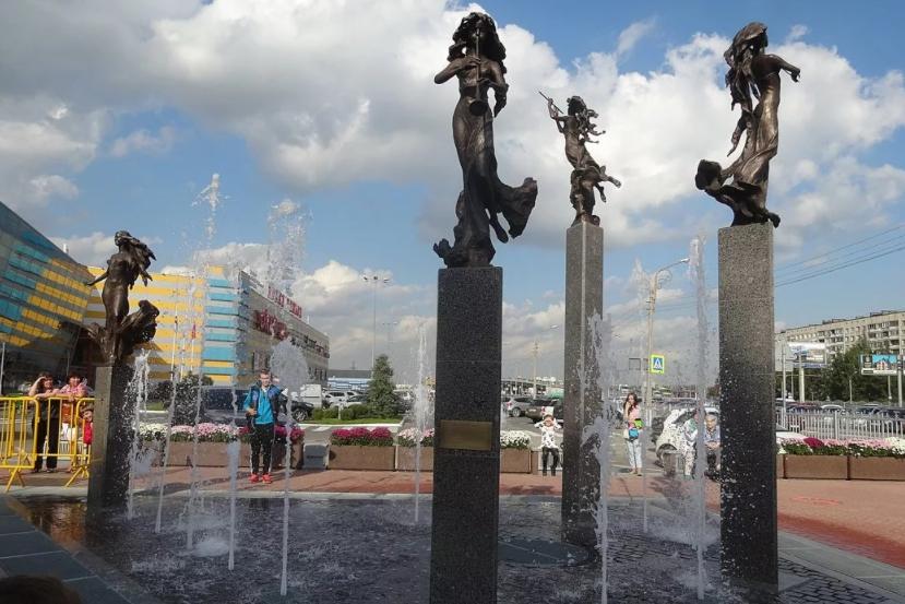 Поющий фонтан «Времена года»