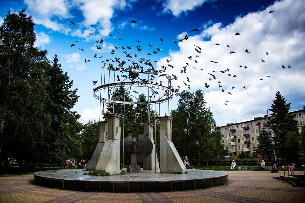 Карелия, Петрозаводск, парк Победы