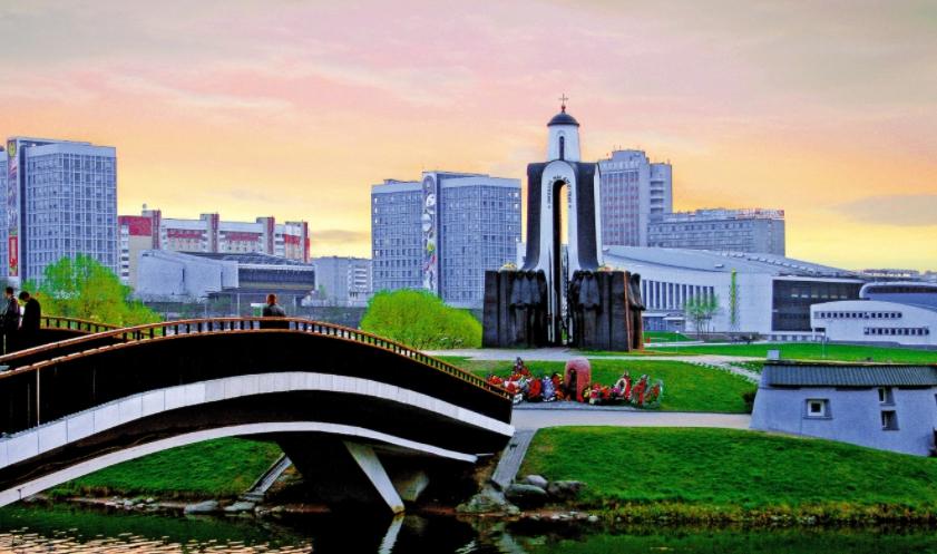 Остров мужества и скорби Минск