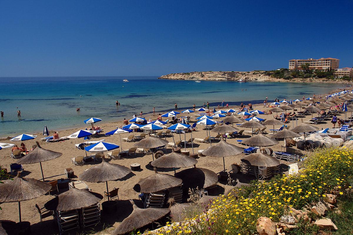 Коралловый пляж Пафос
