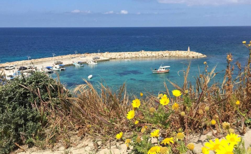 Коралловая бухта Кипр