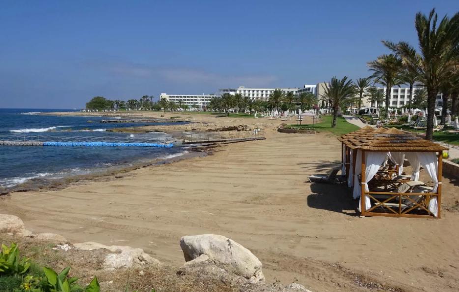 Пафос пляж Героскип