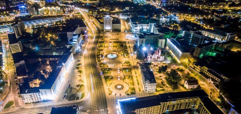 Минск ночной
