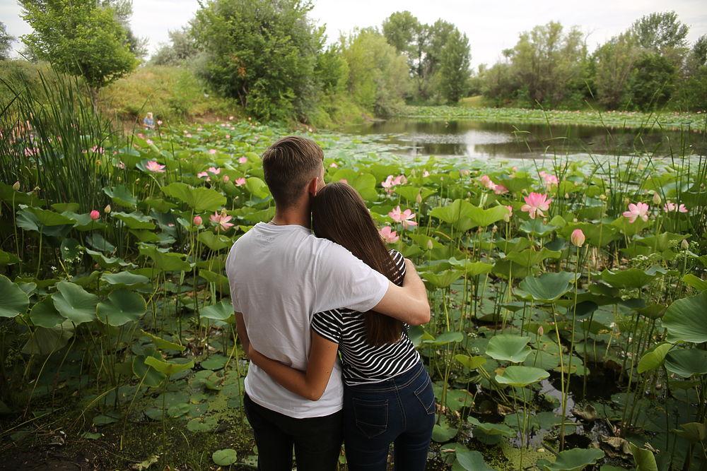 Озеро Лотосов, Волгоградская область