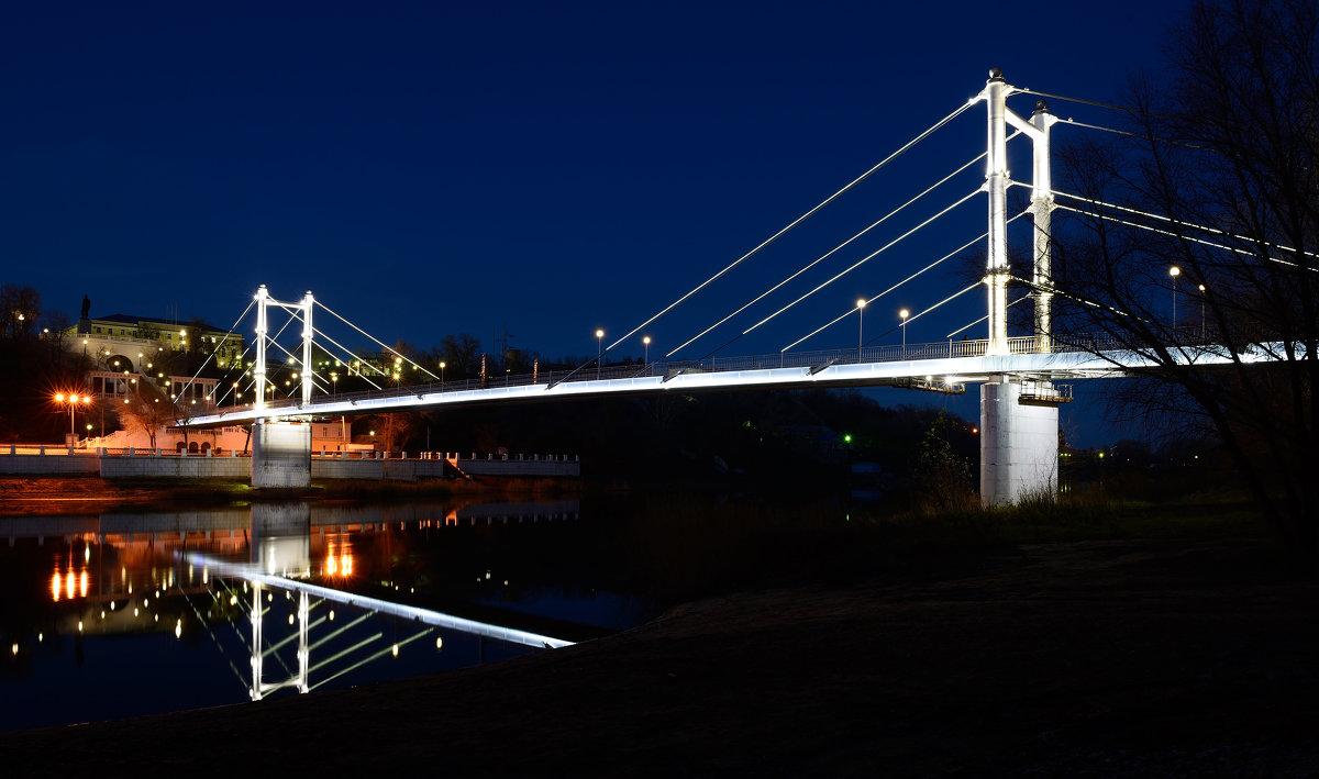 Мост в Оренбурге Европа-Азия