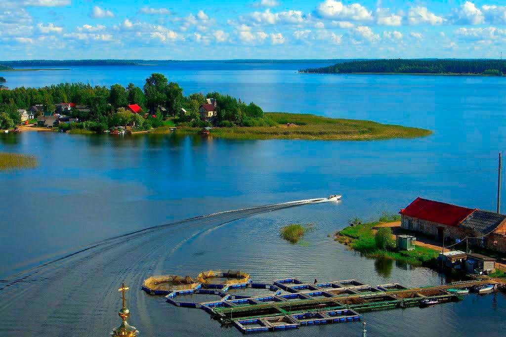 Озеро Селигер, Валдай