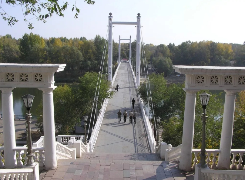 Мост Беловка - ворота в Азию