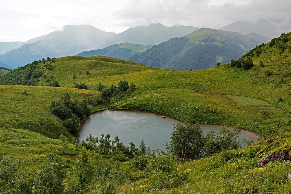 Озеро Любви республика Карачаево-Черкесия
