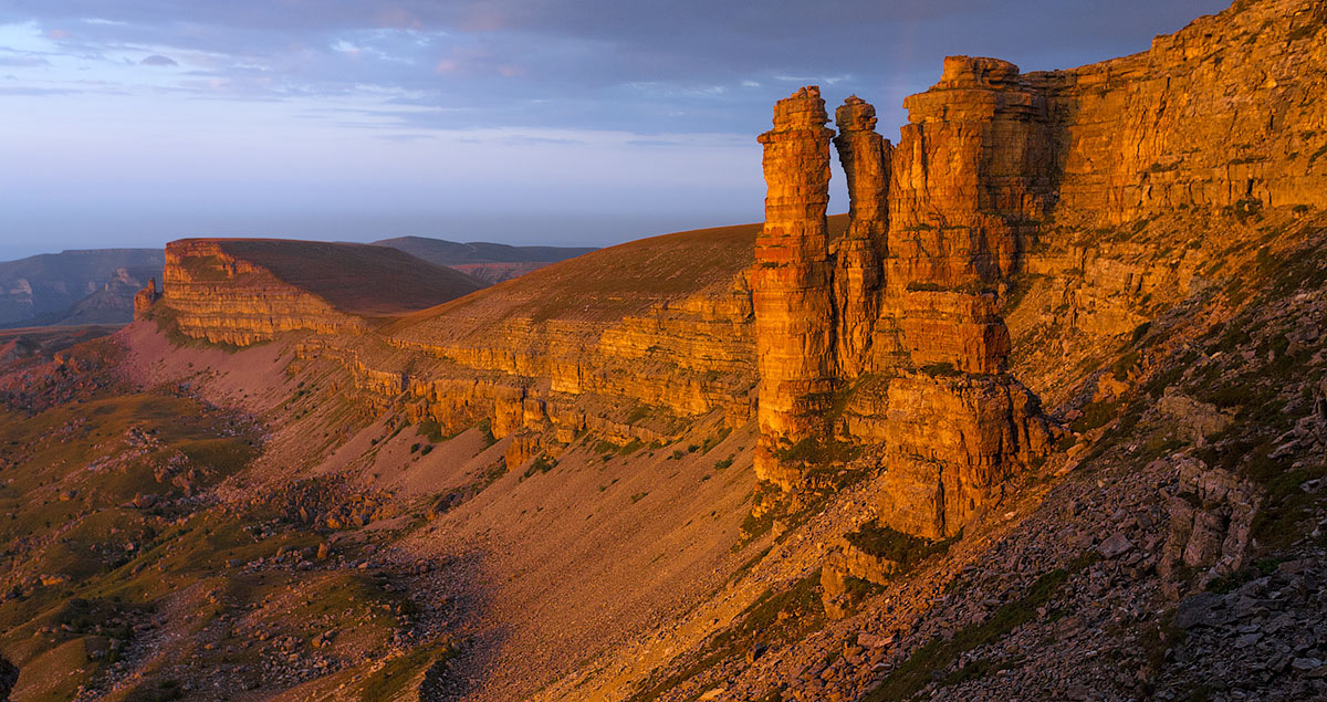 Скалы монахи Бермамыт