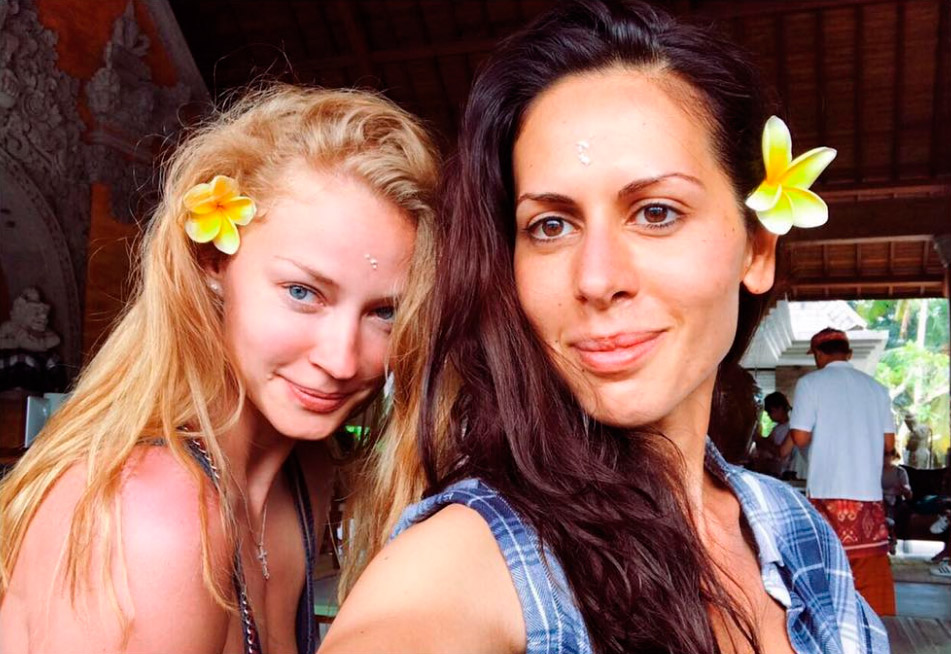 Ходченкова на Бали