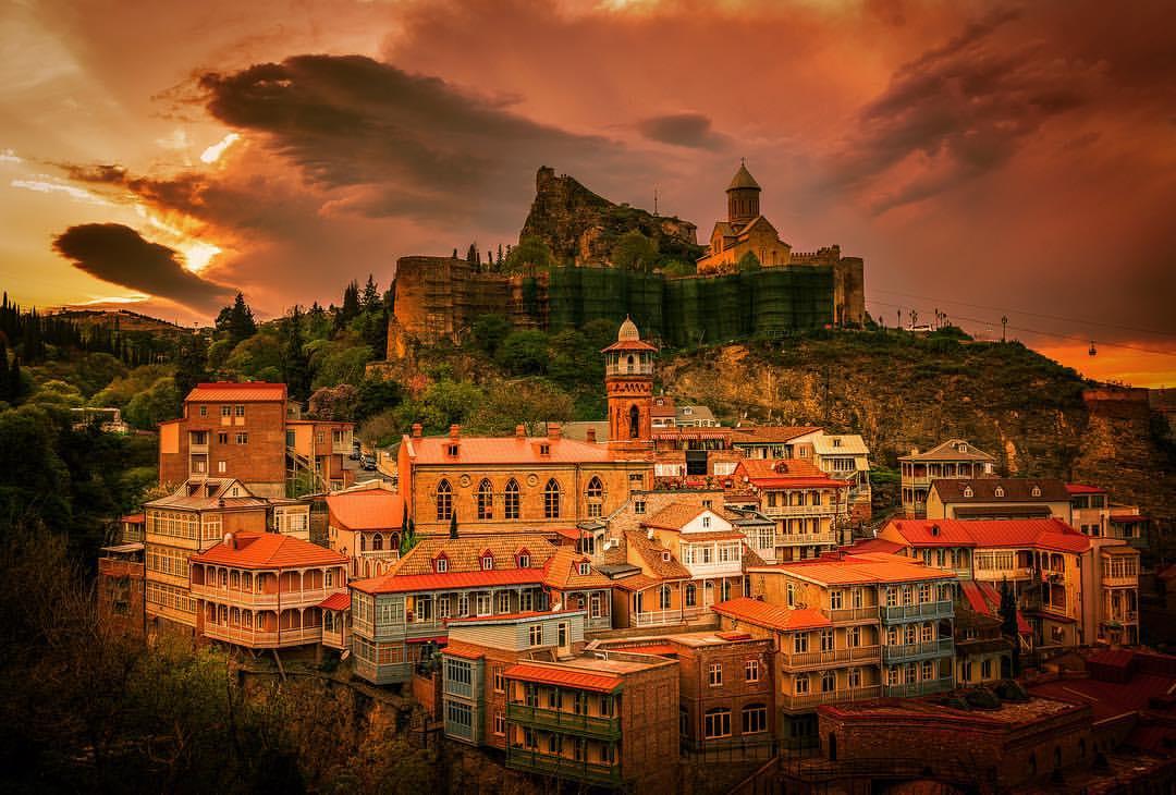 Тбилиси красивый