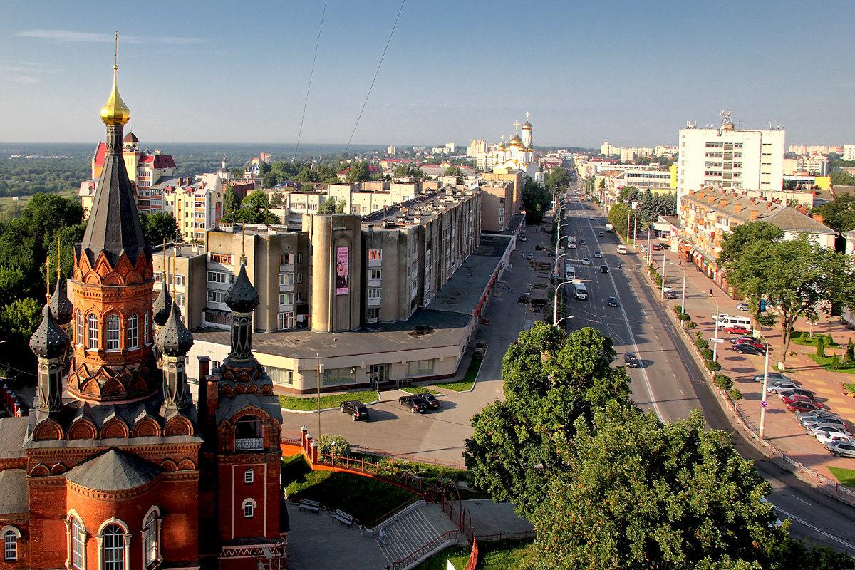 красивый Брянск