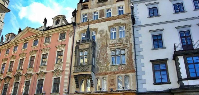 Чехия, дом шторха