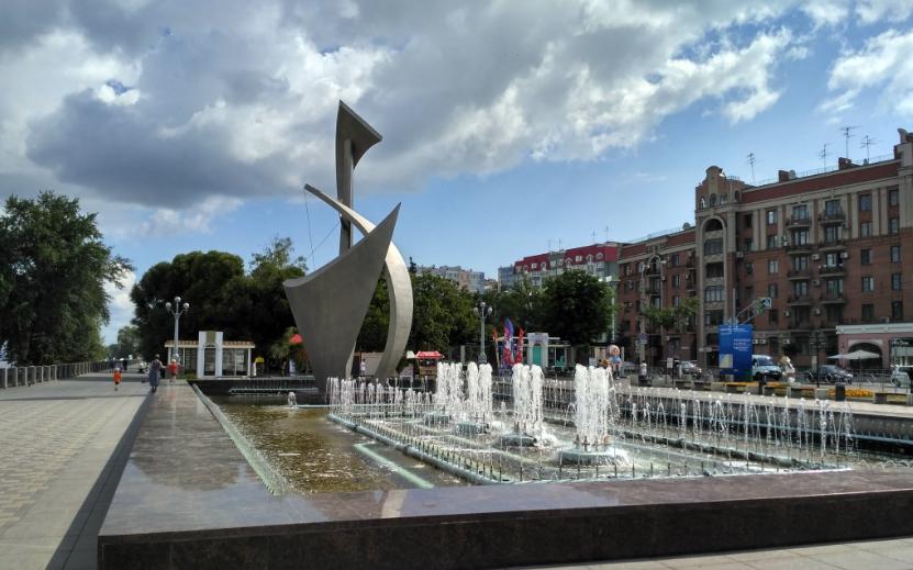 Самара фонтаны