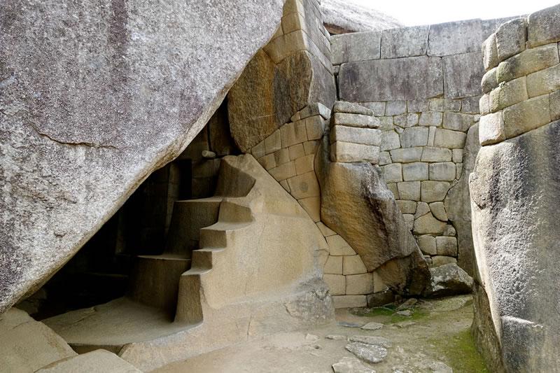 Гробница в городе Мачу Пикчу