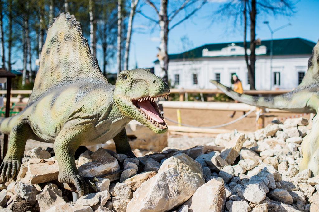 """Парк динозавров """"Юркин парк"""""""