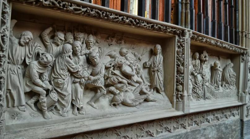Мартос барельефы Казанского собора
