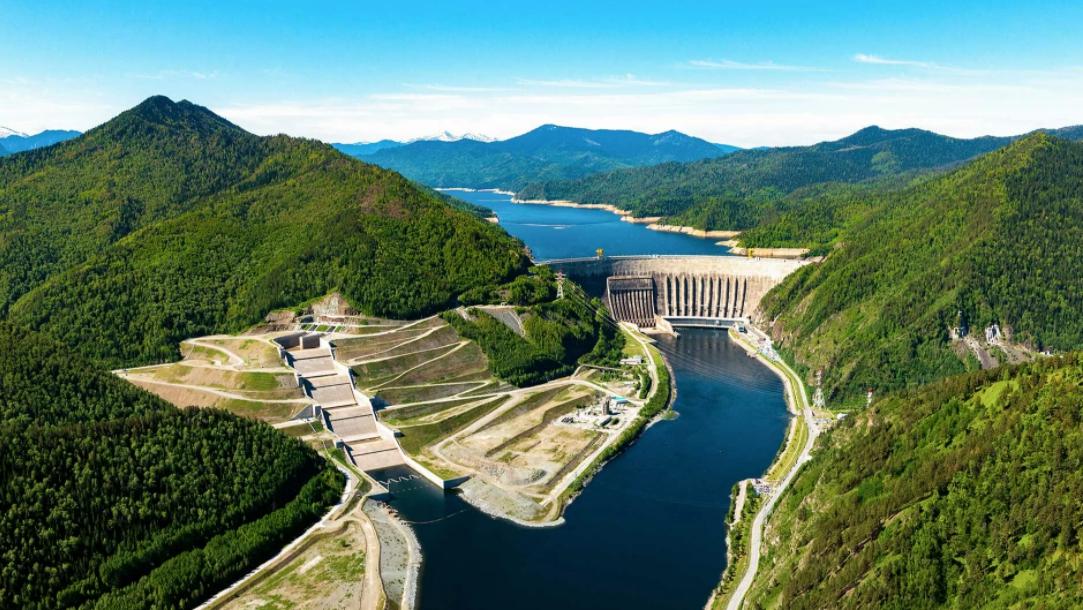 Панорама Саяно-Шушенской ГЭС