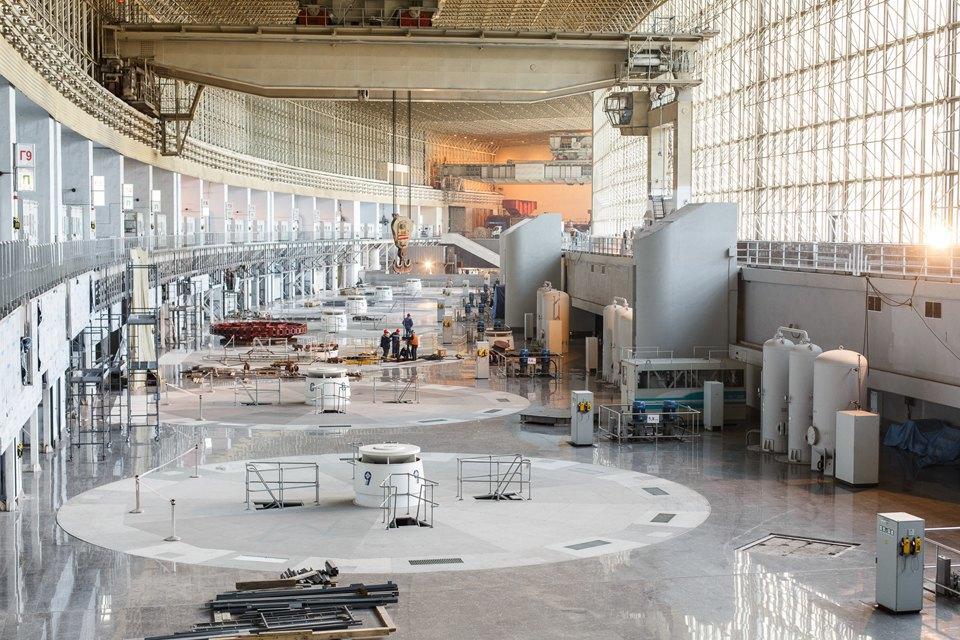 Гидроагрегат Саяно-Шушенской ГЭС